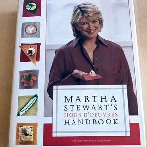 Martha Stewart Hors d'oeuvres Cookbook